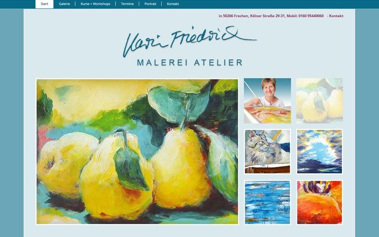 Karin Friedrich, Freischaffende Bildende Künstlerin